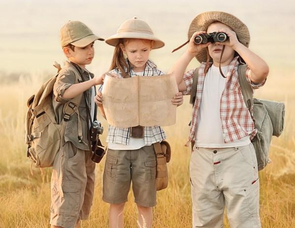 兒童為什麼要旅行?