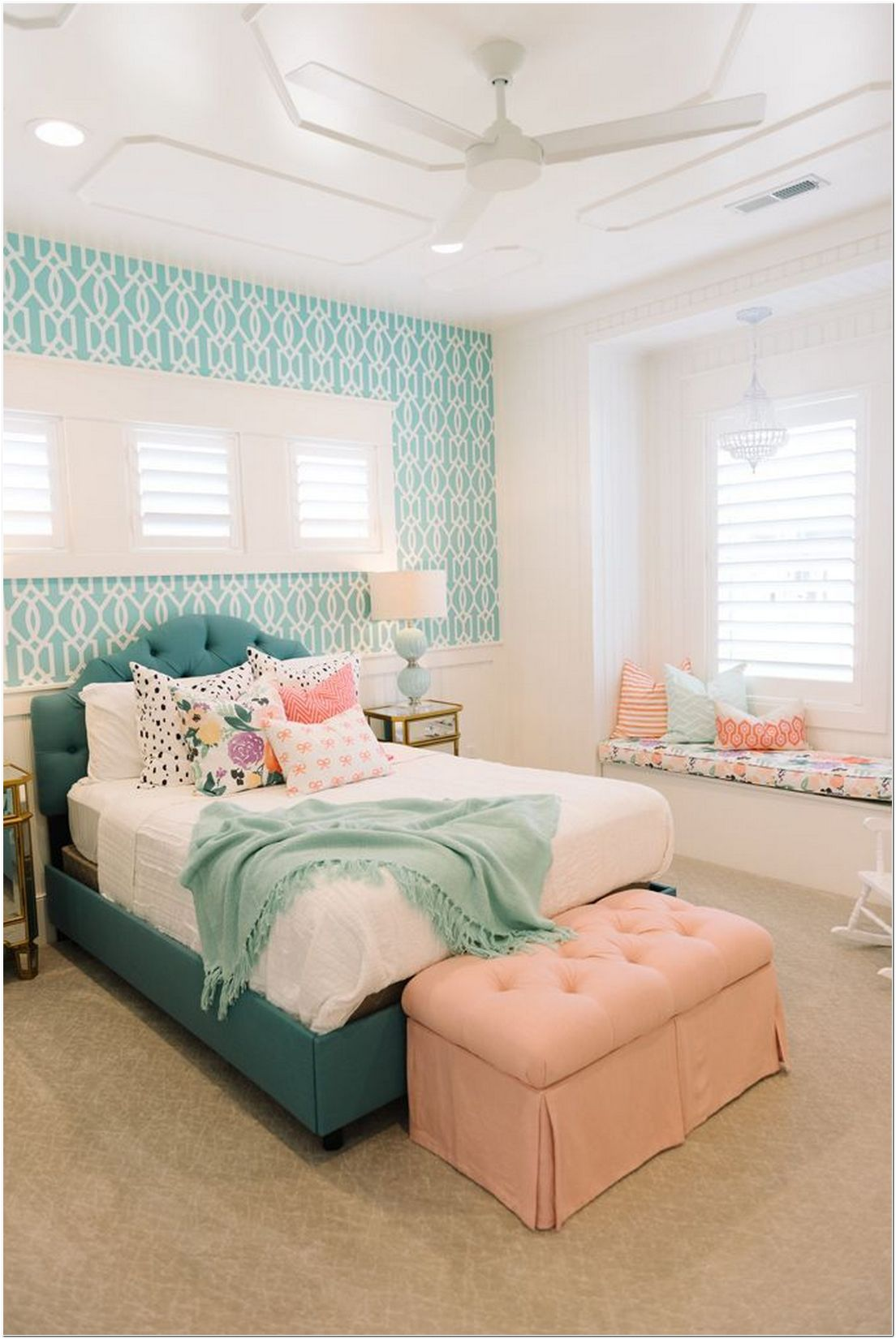 Girl's Bedroom Ideas