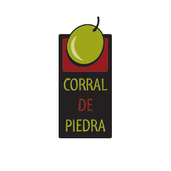 Corral de Piedra olive oil logo by Purely Pacha