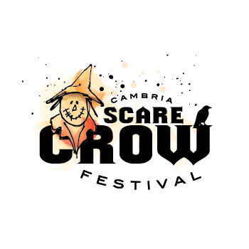 Cambria Scare Crow Festival - logo by Purely Pacha