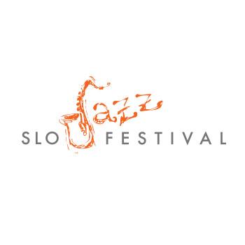 San Luis Obispo Jazz Festival logo by Purely Pacha