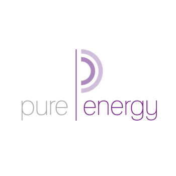 Pure Energy logo by Purely Pacha
