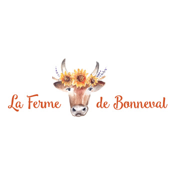 La Ferme de Bonneval Logo by Purely Pacha
