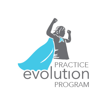 Practice Evolution Program logoby Purely Pacha
