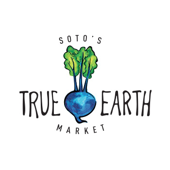 True Earth Market logo by Purely Pacha