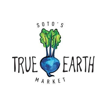 True Earth Market logo by Purely Pacha