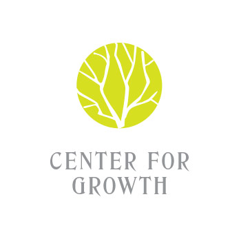 template logo center for growth