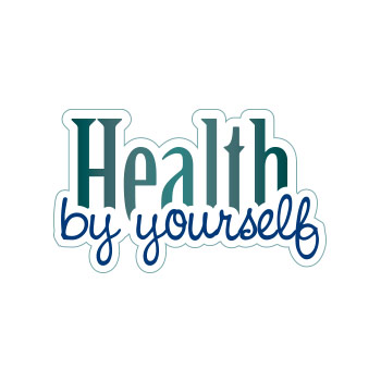 template logo health by yourself