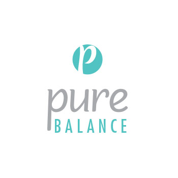 template logo for pure balance