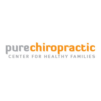 template logo for pure chiro