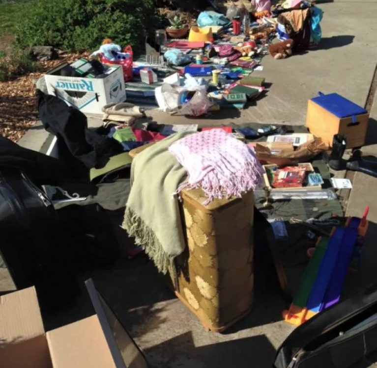 On the brink of a Yard Sale