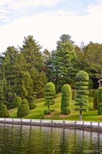 Italian topiary garden