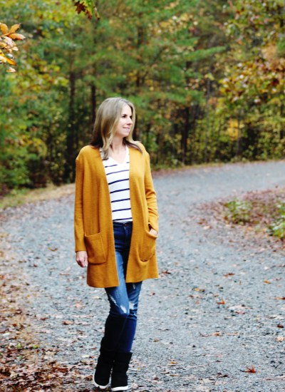 Golden Harvest Cardigan