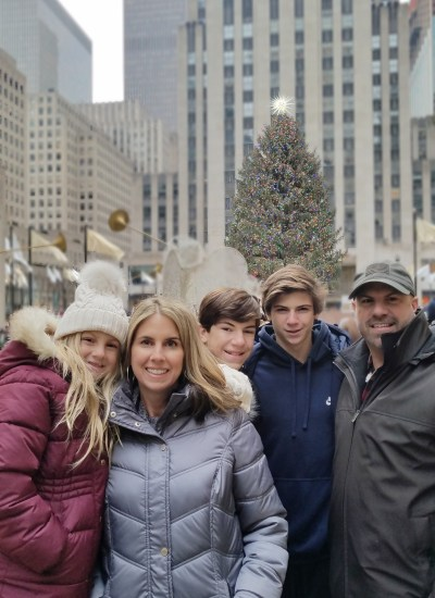 Christmas in New York City with a Family of Five