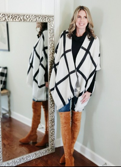 Beautiful Winter Ponchos and Wraps