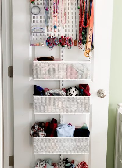 Solutions to Organizing winter gear and jewelry