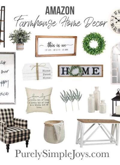 Amazon Farmhouse Home Finds