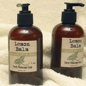 Lemon Balm hand soap for sale in NH