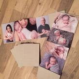 photo accordion album book baby pure natural newborn photography ottawa