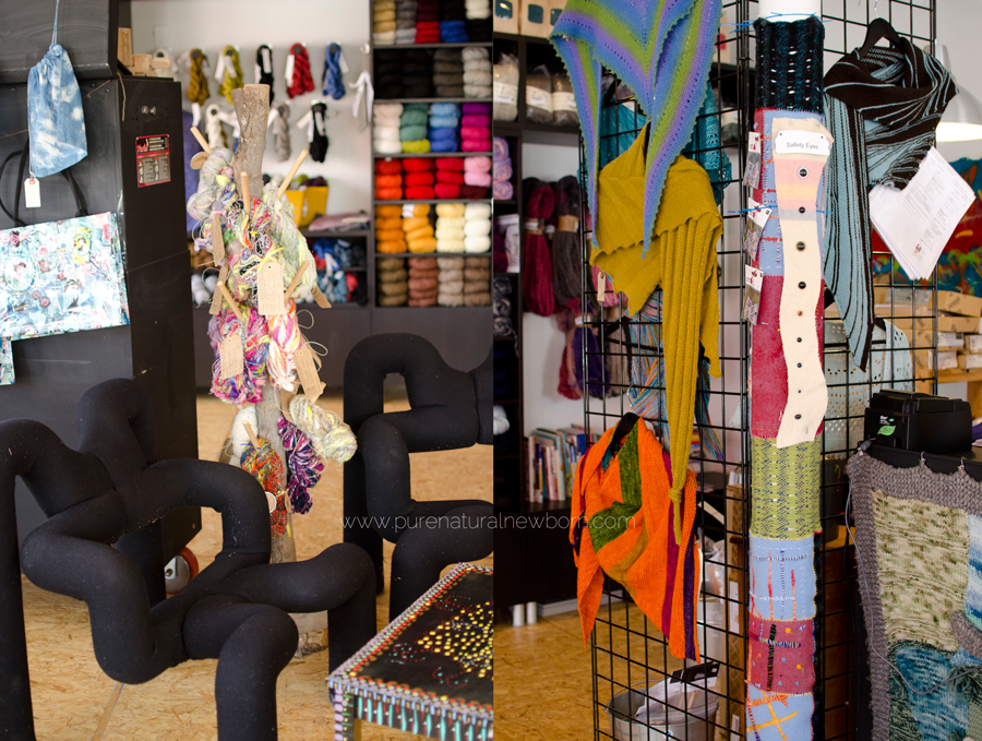 wabisabi-yarn-store-wellington-west-ottawa-funky-chairs-knitting-station-wool-yarn-wall-stephanie-de-montigny-pure-natural-newborn-photography
