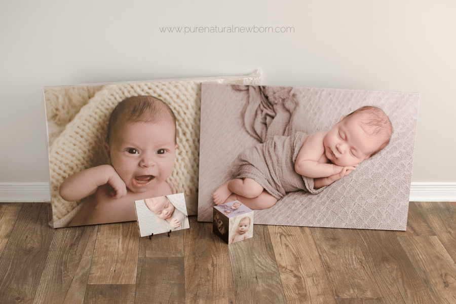 art-prints-product-photos-ottawa-newborn-photographer-print-order-image-box-mounted-photo-cube-easel-display-canvas-wall-art