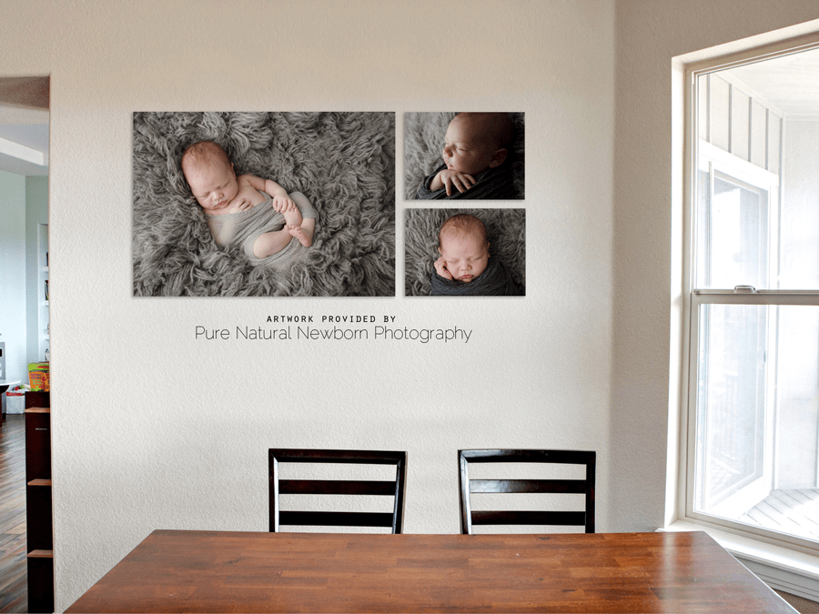 kitchen-above-table-baby-newborn-photos-sample-display-ottawa-photographer