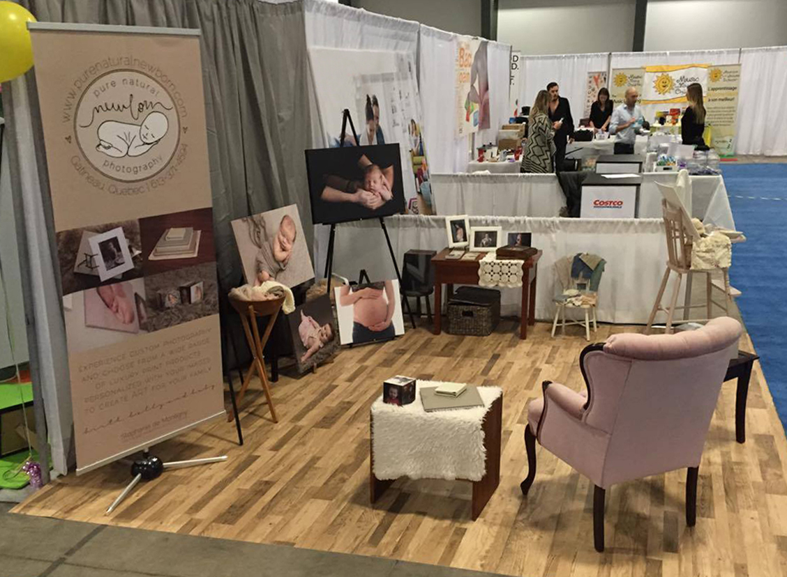 ottawa-baby-show-trade-show-booth-pure-natural-newborn-photography