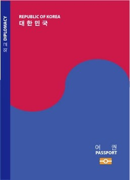 여권 디자인, 디자인 김한솔, 일러스트 장준영 (C)2008 김한솔