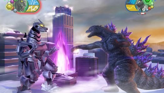 Godzilla Rampages on Wii