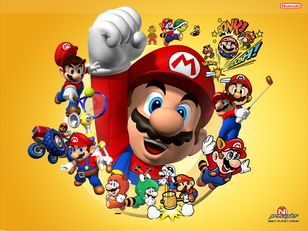 Top 4 favorite retro video game characters of all-time, which is your favorite?