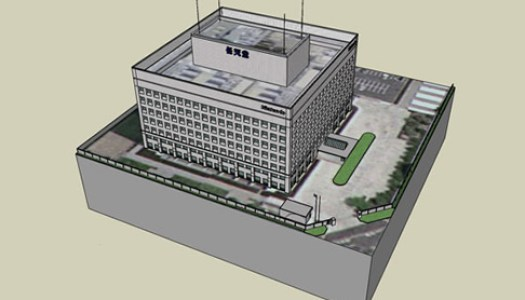 Nintendo's HQ in 3D