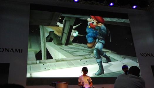 TGS07: Snake Chokes Mario *sniff*