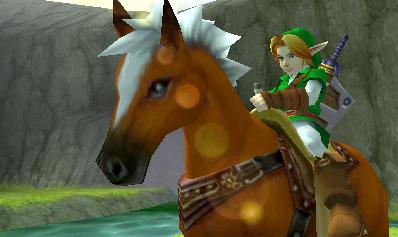E3 2010:  The Legend of Zelda: Ocarina of Time 3D Screens
