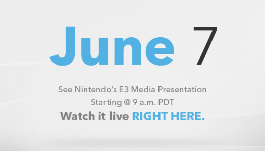 Nintendo to Stream E3 2011 Media Presentation on June 7