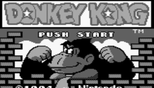 Donkey Kong 94 eShop footage