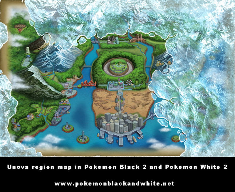 Pokemon blackwhite vs pokemon blackwhite 2 map comparison for those of you who do not fallow pokemon very much may be asking yourself hey those maps look pretty much the same well you are right gumiabroncs
