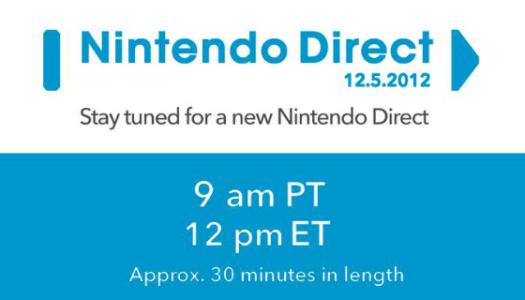 NA Nintendo Direct Live Stream – Starts 12 pm EST