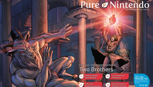 Pure Nintendo and @AckkStudios debut custom cover art for Pure Nintendo Magazine