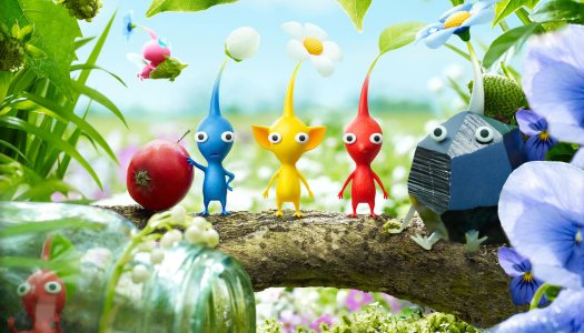 Pikmin 3 Update Adds New Touchscreen Controls