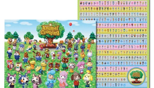 Club Nintendo's Animal Crossing: New Leaf 2 Poster Set