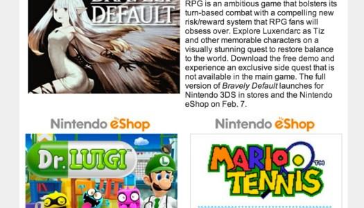 Nintendo Download – January 2, 2014