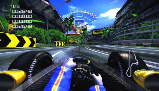 The 90's Arcade Racer update – 720p at 60 fps