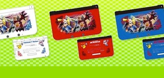 Three Pokémon X & Y 3DS XL Models Revealed for Japan