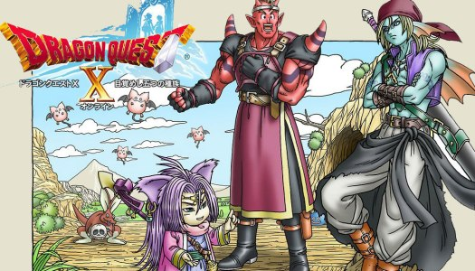 Dragon Quest X heading to 3DS in Japan