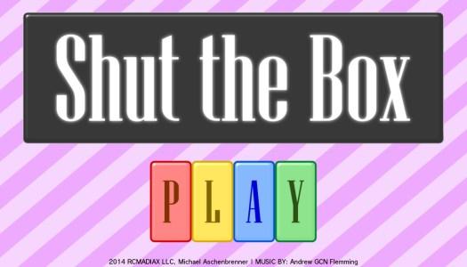 PN Review: Shut The Box (Wii U eShop)