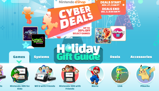 Wii U, 3DS, 2DS Black Friday Deals & Steals!