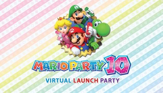 Mario Party 10 Virtual Launch Party
