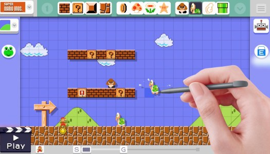 Super Mario Maker Course Submissions