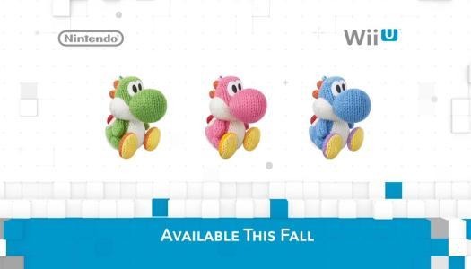 Yoshi's Woolly World: Yarn Amiibo, Coming this Fall