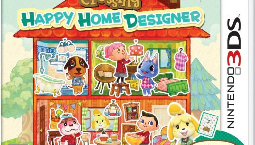 Animal Crossing: Happy Home Designer Bundle Includes NFC Reader